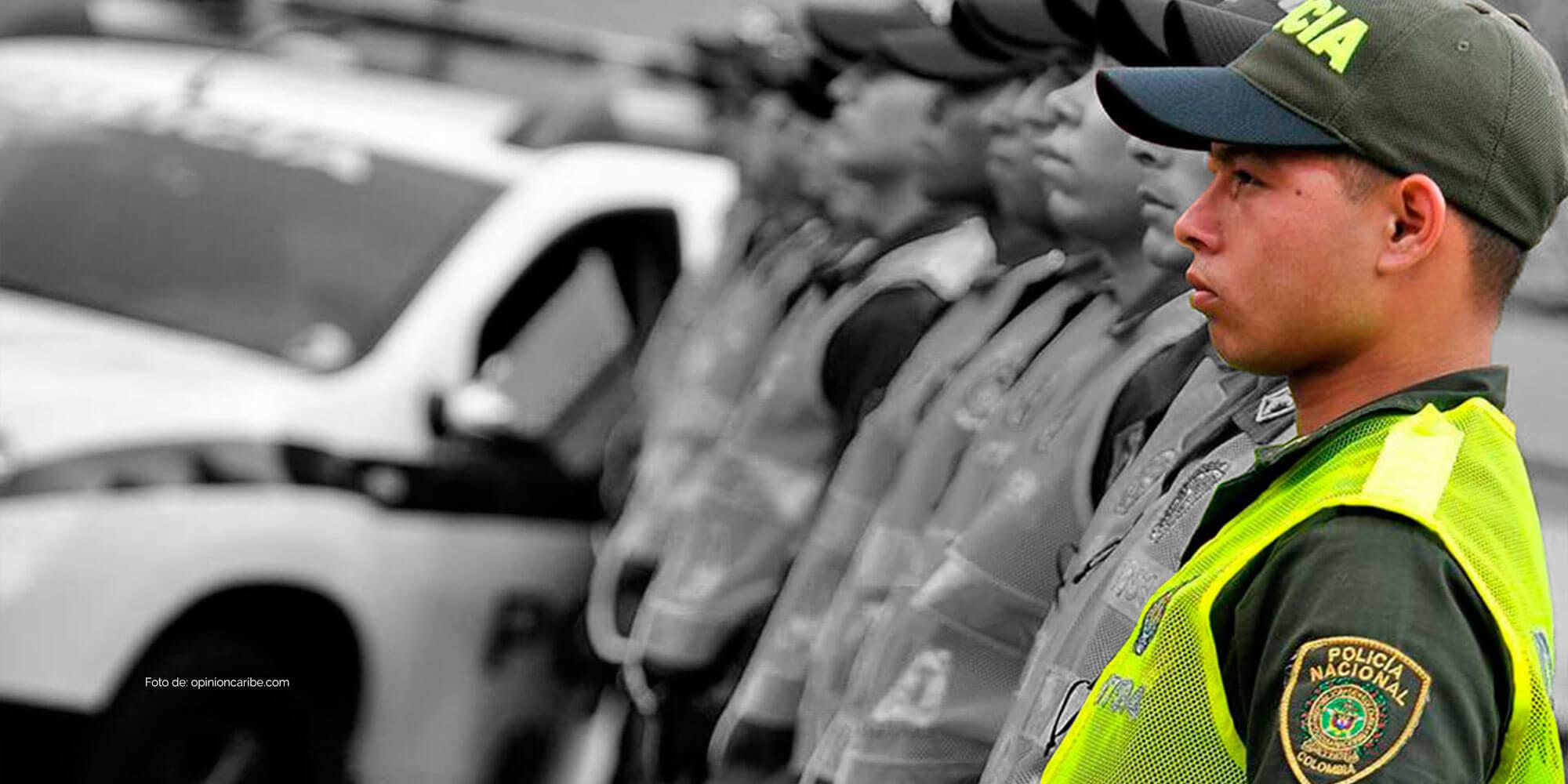 Equipos de defensa para Policia Nacional