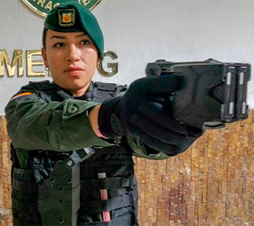 Extra Proteccion Pistola Eléctric Taser para Policia