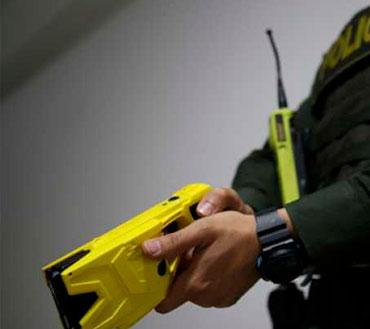 Armas No Letales para Policia y Fuerza Militar